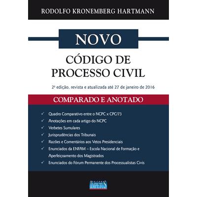 novo codigo de processo civil anotado e comparado na Saraiva