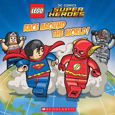 Lego DC Super Heroes - Race Around The World!