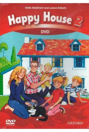 Happy House - Level 2 - DVD-ROM - Stella Maidment Lorena Roberts | Tagrny.org