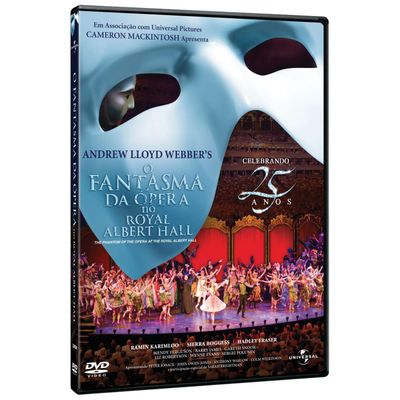 O Fantasma da Ópera No Royal Albert Hall - Celebrando 25 Anos - DVD