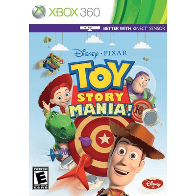 Toy Story Mania Kinect - X360