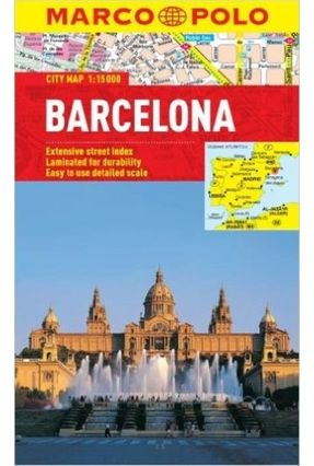 Barcelona - Marco Polo City Map - MARCO POLO pdf epub