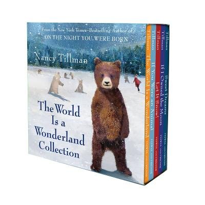Nancy Tillman's The World Is A Wonderland Collection - (The World Is A Wonderland; If You Were An Animal; Let It Snow!;