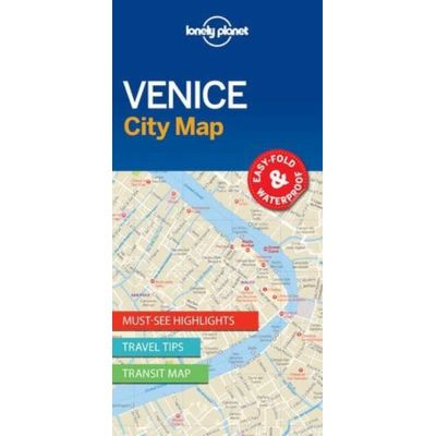 Lonely Planet - Venice City Map