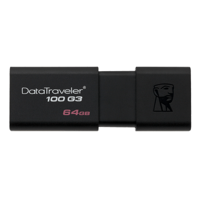 Pen Drive Kingston USB 3.0 DataTraveler 100 G3 64Gb