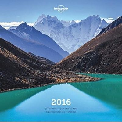 Lonely Planet - Wall Calendar 2016