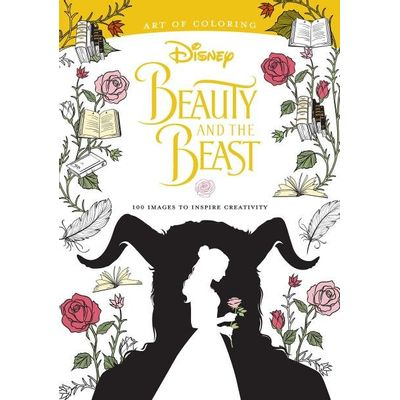 Beauty And The Beast Art Of Coloring - 100 Images To Inspire Creativity