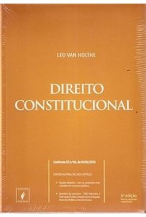 Usado - Direito Constitucional - 6ª Ed. 2010