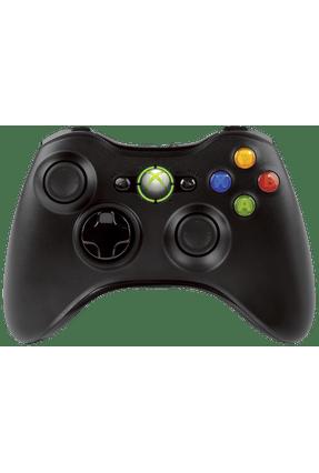 Controle Sem Fio Xbox 360 Preto Saraiva