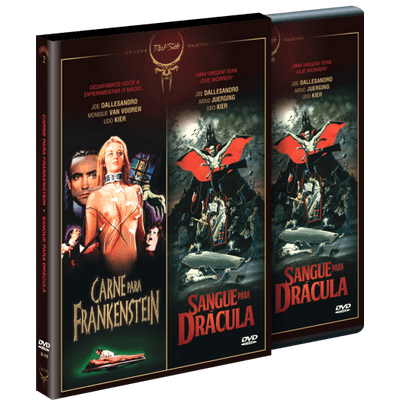 DVD - Dark Side Collection - Vol. 2 - Carne Para Frankenstein + Sangue Para Drácula - 2 Discos