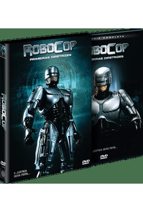 Dvd Robocop Primeiras Diretrizes 4 Discos Saraiva