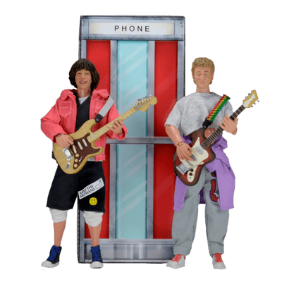 Bill And Ted'S Excellent Adventure - 2 Pack - Clothed Figure