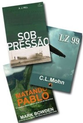 Kit Sob Pressão + Lz 99 + Matando Pablo ( 3 Vols )