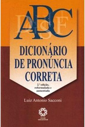 Dicionário de Pronúncia Correta