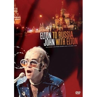 To Rússia With Elton - DVD