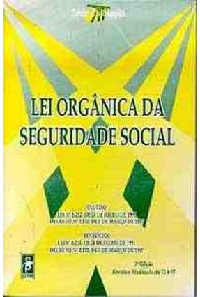 Lei Organica da Seguridade Social -  pdf epub