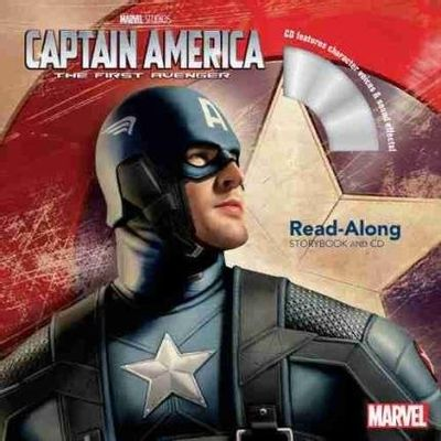 Captain America The First Avenger Read-Along Storybook And CD