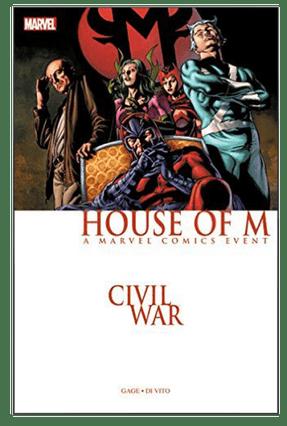 Civil War - House Of M - Di Vito,Andrea Gage,Christos pdf epub