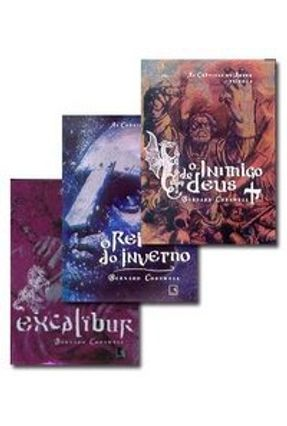 Box Bernard Cornwell - as Crônicas de Artur
