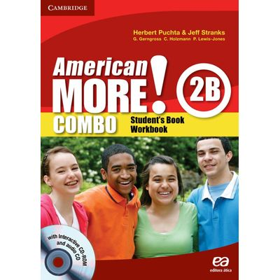 American More! Combo 2b - Student's Book & Workbook + Audio CD