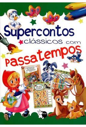 Supercontos - Clássicos Com Passatempos - Girassol,Editora | Hoshan.org