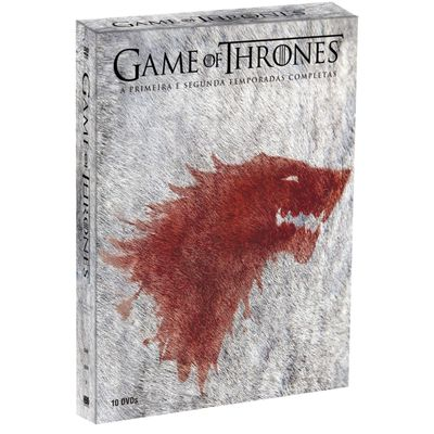 DVD Box Game Of Thrones - 1ª e 2ª Temporada - 10 Discos