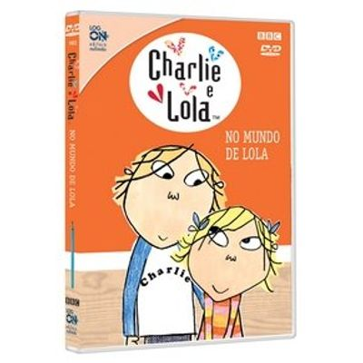 Charlie e Lola - No Mundo de Lola - Mini DVD - Exclusivo