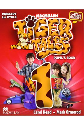 Tiger Tales 1 - Pupil's Book With Progress Journal