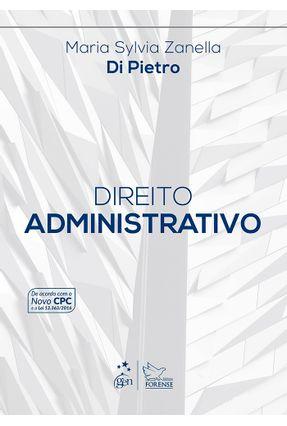 Usado - Direito Administrativo - 30ª Ed. 2017 - Pietro,Maria Sylvia Zanella Di | Hoshan.org