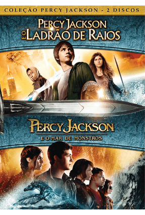 Duologia Percy Jackson - Poster