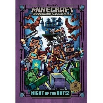 Night Of The Bats! (Minecraft Woodsword Chronicles #2)