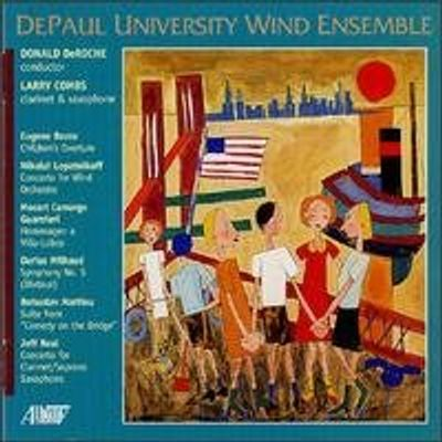 CHILDREN'S OVERTURE / CONCERTO FOR WIND ORCHESTRA