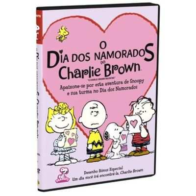 DVD o Dia Dos Namorados do Charlie Brown