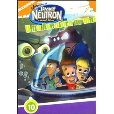 As Aventuras de Jimmy Neutron - Uma Aventura no Mar - 10 Episódios - DVD4