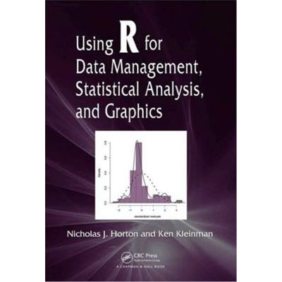 Using R For Data Management, Statistical Analysis, And Graphics