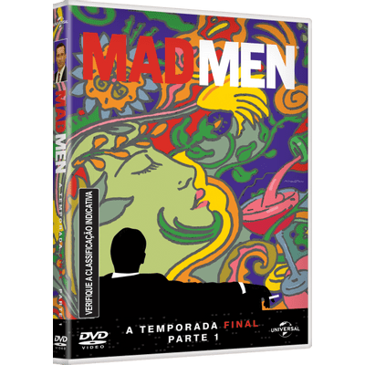 DVD Mad Men - 7ª Temporada - A Temporada Final - Parte 1 - 3 Discos