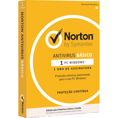 Norton Anti Virus - 1 Dispositivo - 12 Meses De Assinatura