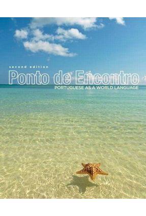 Ponto de Encontro Portuguese - As a World Language - 2ª Ed. 2012 - Pastre Klobucka Sobral | Hoshan.org