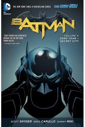 Batman Vol. 4 - Zero Year-Secret City - Snyder,Scott pdf epub