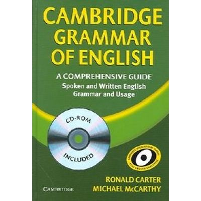 Cambridge Grammar of English - Hardback