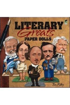 Literary Greats Paper Dolls - Foley,Tim (ilt) | Tagrny.org