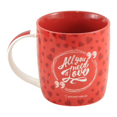 Caneca All You Need Is Love 320Ml