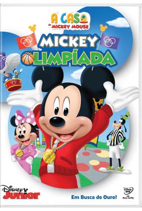 A Casa Do Mickey Mouse Mickey Olimpiada Dvd Saraiva