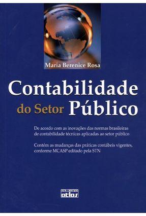 Usado - Contabilidade do Setor Público - Rosa,Maria Berenice | Tagrny.org