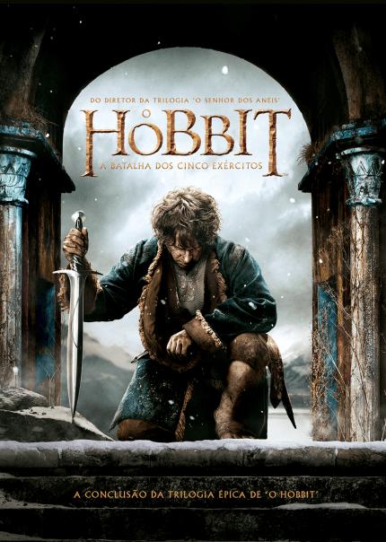 O Hobbit - A Batalha Dos Cinco Exércitos - DVD - Saraiva