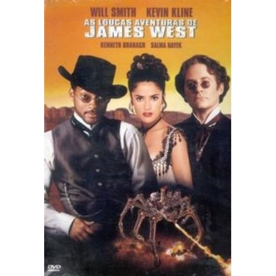 As Loucas Aventuras de James West - Dvd4