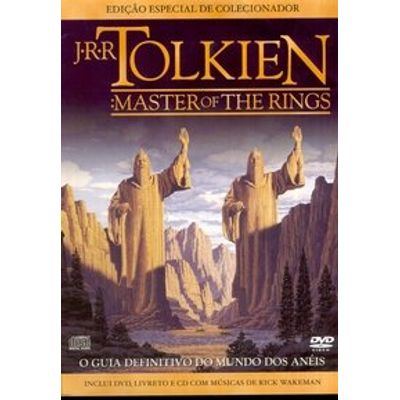 J. R. R. Tolkien - Master of the Rings - DVD + CD com Músicas de Rick Wakeman