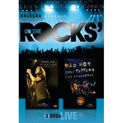 On The Rocks' - Pearl Jam & Red Hot Chilli Peppers - Vol. 7 - 2 DVDs