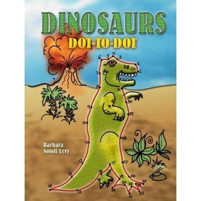 Dinosaurs Dot-To-Dot