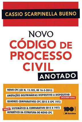 Usado - Novo Código de Processo Civil - Anotado 2015 - Bueno,Cassio Scarpinella pdf epub